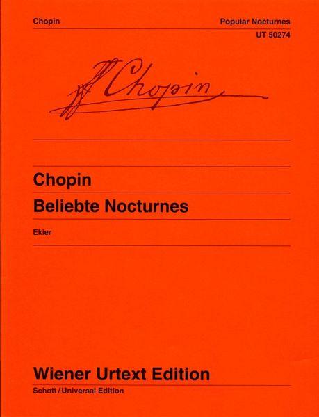 Wiener Urtext Edition Chopin Popular Nocturnes