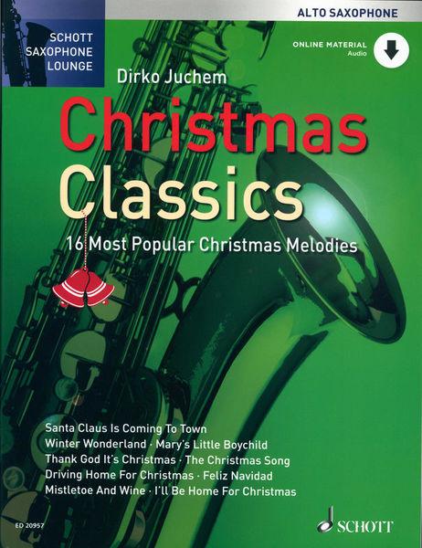 Christmas Classics A-Sax Schott
