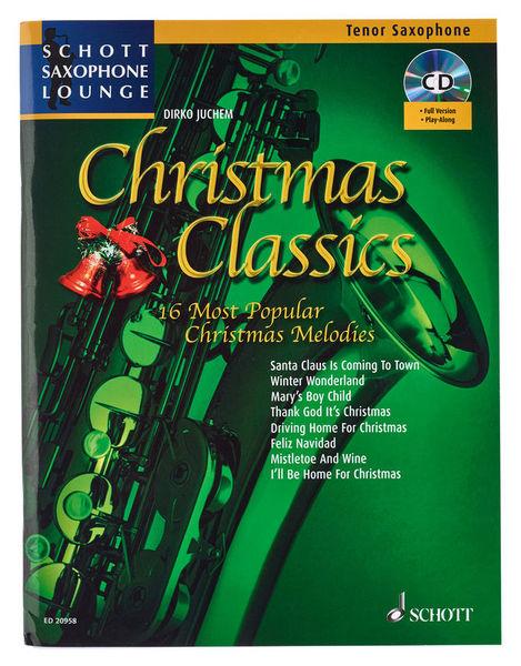 Schott Christmas Classics Tenorsax.