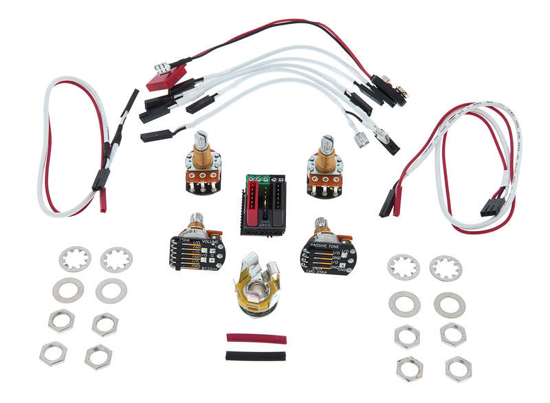 emg 1 or 2 pickups wiring kit thomann uk rh thomann de EMG Afterburner Installation EMG Wire Kit