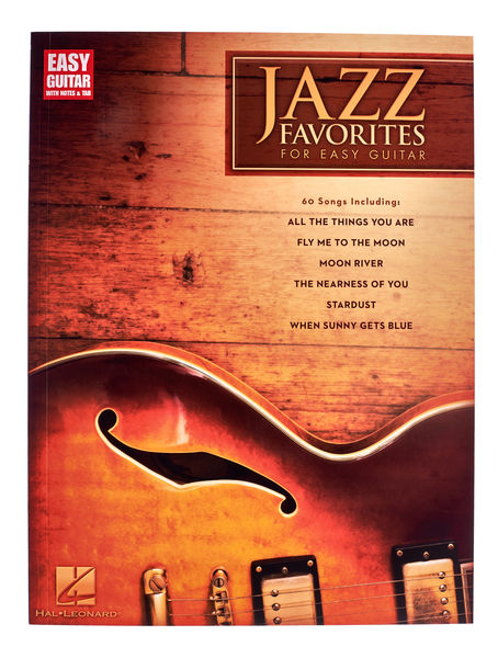 Hal Leonard Jazz Favorites for Easy Guitar