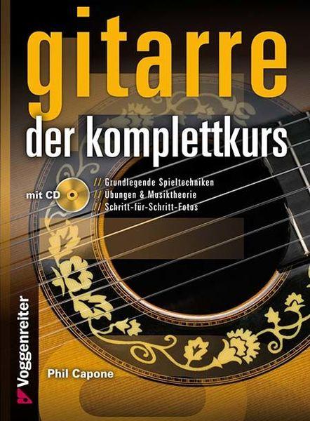 Gitarre Der Komplettkurs Voggenreiter