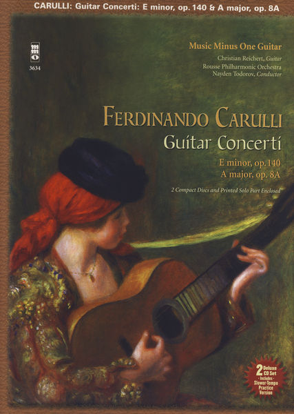 Music Minus One Carulli Guitar Concerti