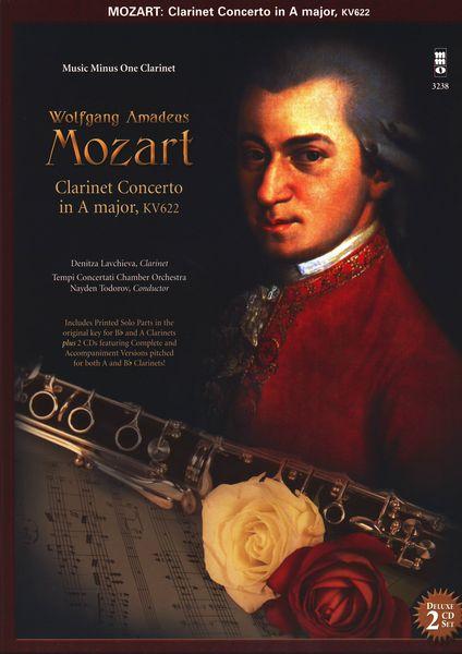 Music Minus One Mozart Clarinet Concerto KV622