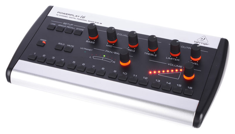 Behringer Powerplay P16-M Personal Mixer