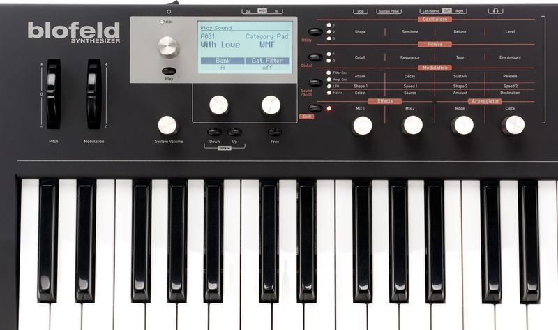 Blofeld Synthesizer Panel / Bild: Thomann.de