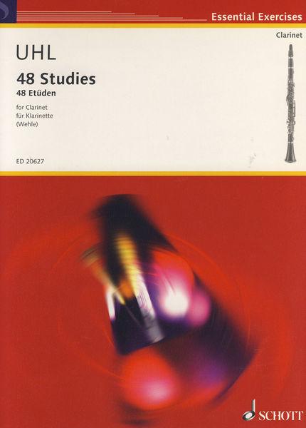 Schott 48 Etüden für Klarinette