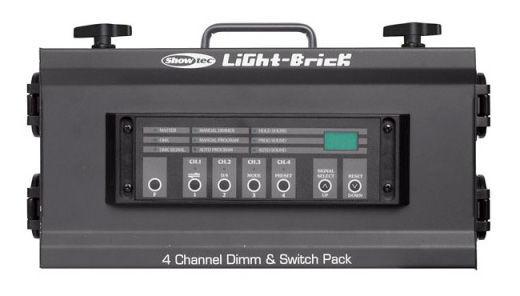 Showtec Lightbrick 4 Ch. Dimm Pack DMX