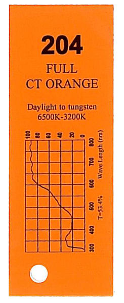 Q-Max Filter Roll 204 F.C.T. Orange