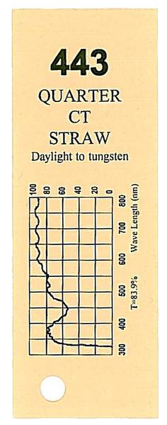 Q-Max Filter Roll 443 Q.C.T. Straw