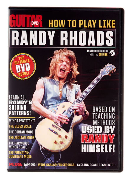 Guitar World How To Play Like Randy Rhoads