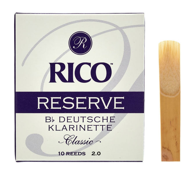 Reserve Classic 2 GER Clarinet Daddario Woodwinds