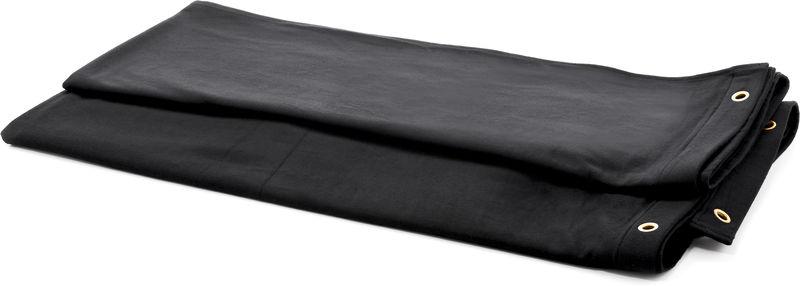 Stairville Curtain 300g/m² 6.0x4.0m Bk