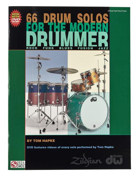 Hal Leonard Hapke 66 Drum Solos Modern