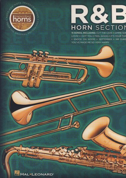 Hal Leonard R&B Horn Section