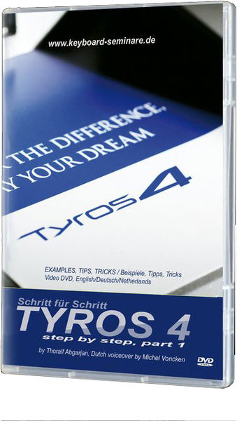 Yamaha Tyros 4 Video DVD