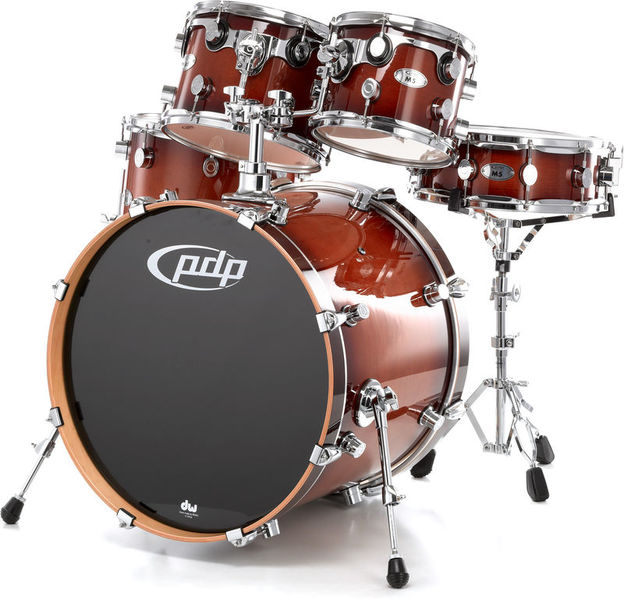 "DW PDP M5 Shell Set 22"" Tobacco"