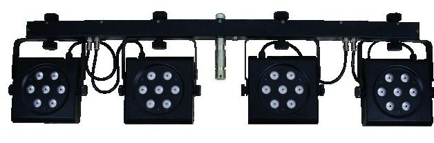 Eurolite LED KLS-801 TCL DMX incl. Case