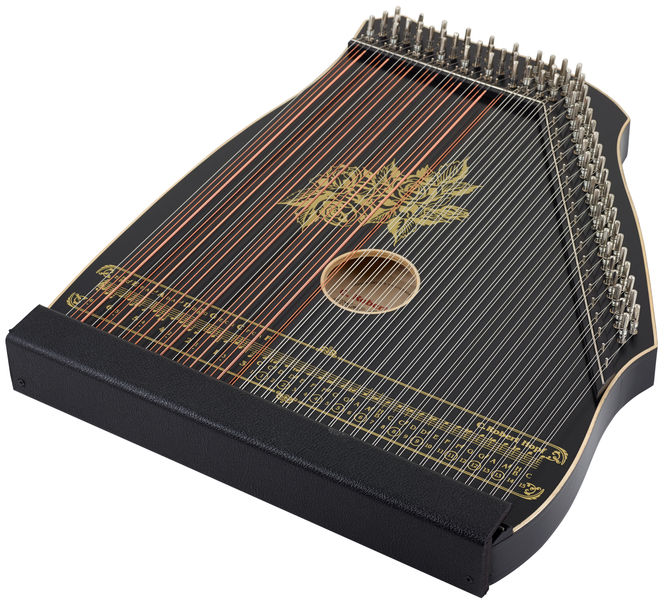 C. Robert Hopf Akkordzither 100/4 Black