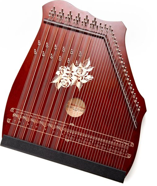 C. Robert Hopf Akkordzither 100/5 Mahogany