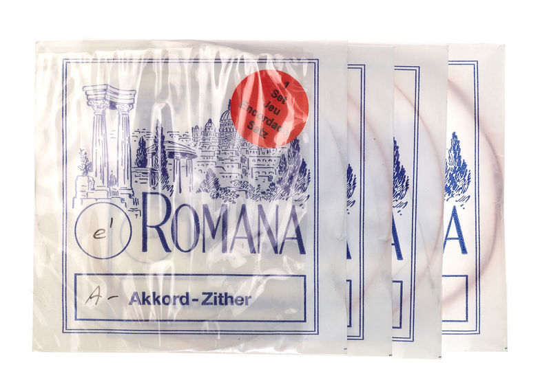 Romana Akkordzither Strings A5 Akkord