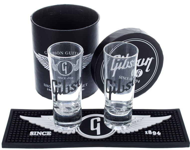 Gibson Shot Glasses 2 pcs.