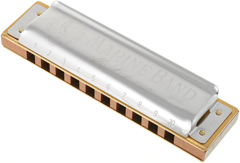 Hohner Marine Band Class. F nat.Minor