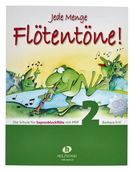 Holzschuh Verlag Flötentöne Vol.2 Sop-Rec +CD