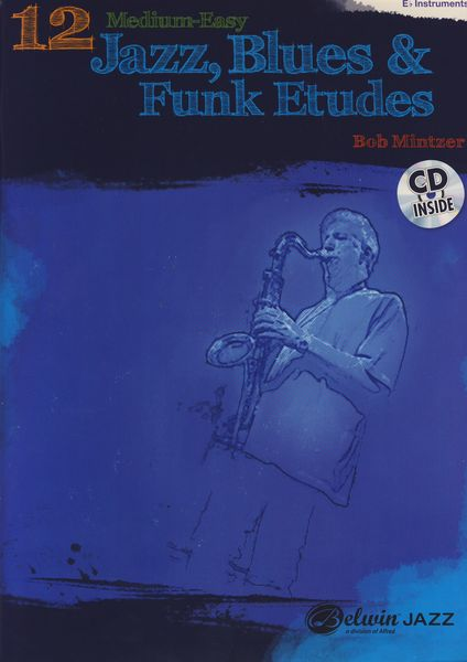 Alfred Music Publishing Jazz, Blues & Funk Etudes Eb