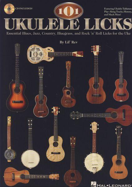 Hal Leonard 101 Ukulele Licks