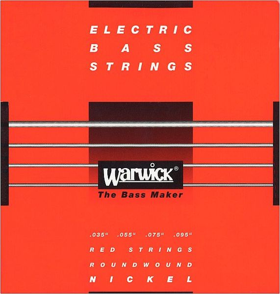 Warwick 46230 Red Strings Nickel