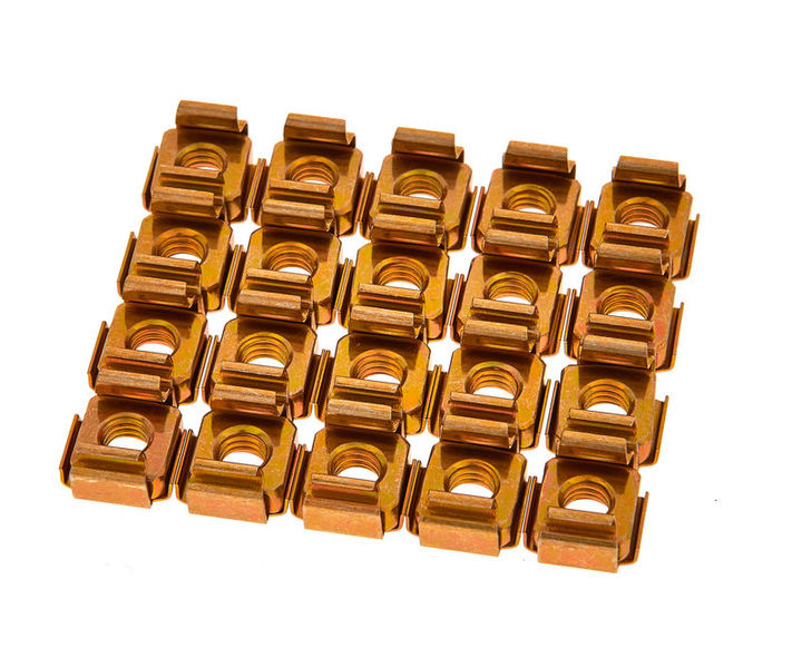 Adam Hall 5653 Rack Nut Pack
