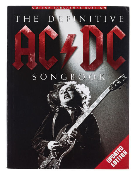 AC/DC Definitive Songbook Upd Wise Publications