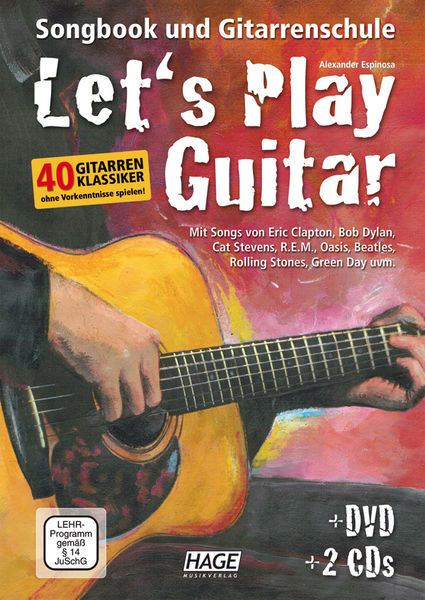 Hage Musikverlag Let's Play Guitar Vol.1