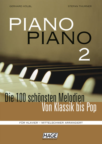 Hage Musikverlag Piano Piano Vol.2 Intermediate