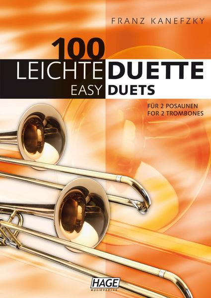 Hage Musikverlag 100 Leichte Duette Posaune