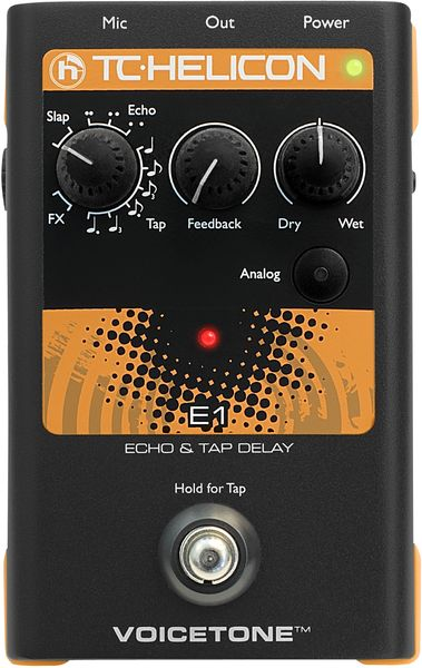 TC-Helicon Voice Tone E1