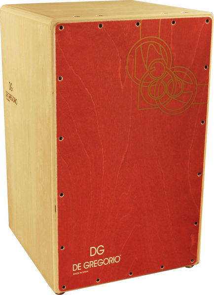 DG De Gregorio Chanela Cajon Red