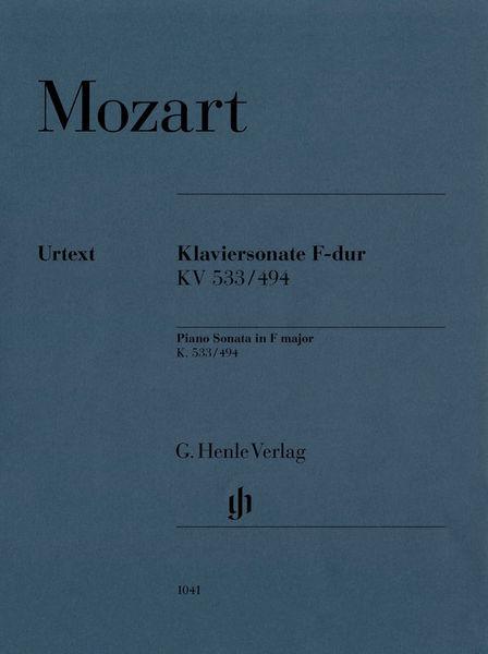 Henle Verlag Mozart Sonate F-Dur KV 533
