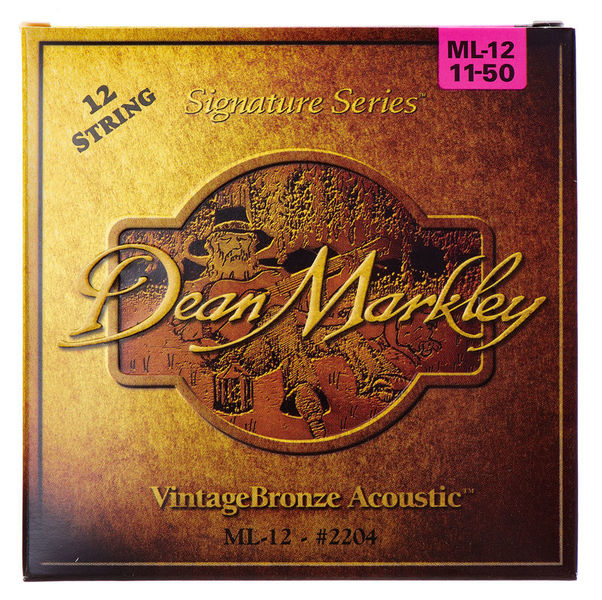 Dean Markley 2204ML12string Bronze Acoustic