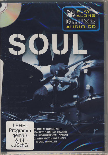Music Sales Play Along Drums Soul