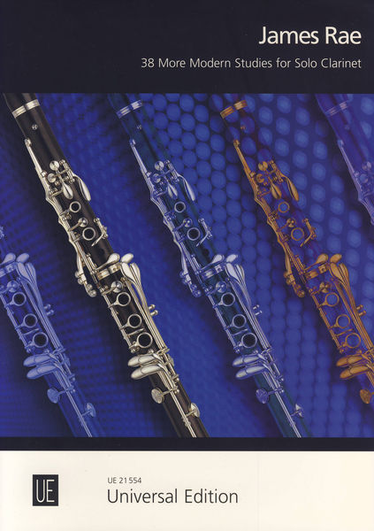 Universal Edition More Modern Studies Clarinet