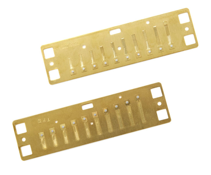 Lee Oskar Harmonic Minor Reedplates C