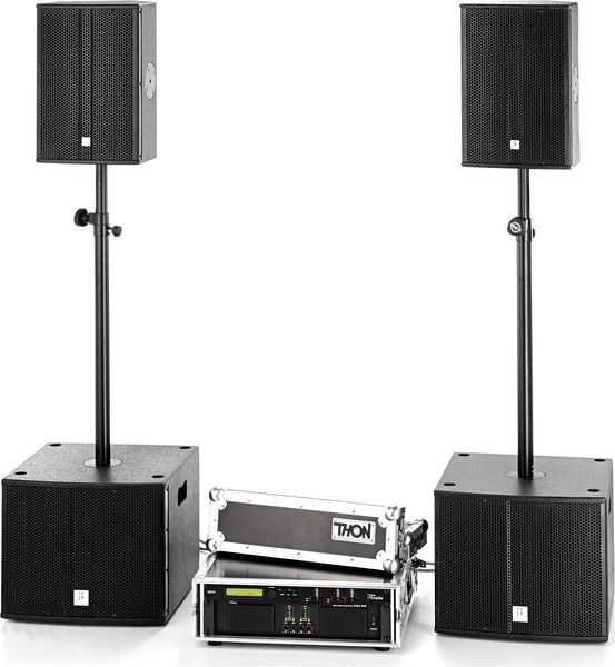 the box pro Achat 110/112 Amp Bundle