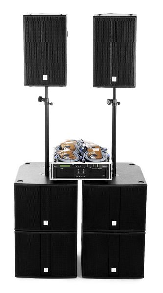 the box pro Achat 112/115 Amp Bundle