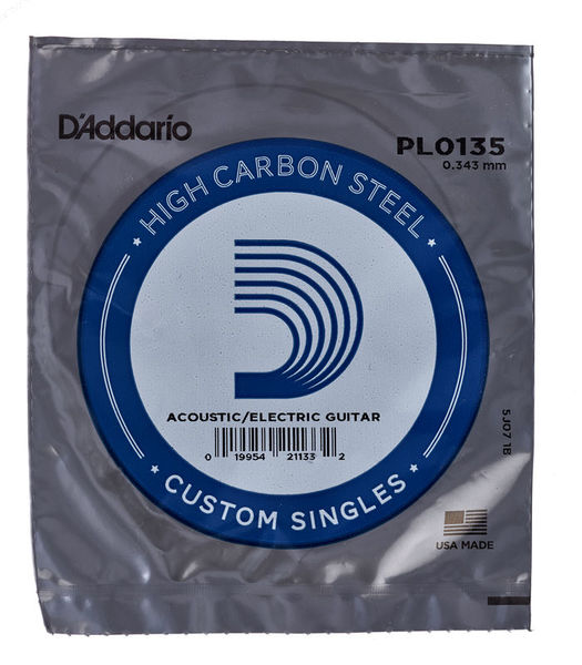 Daddario PL0135 Single String