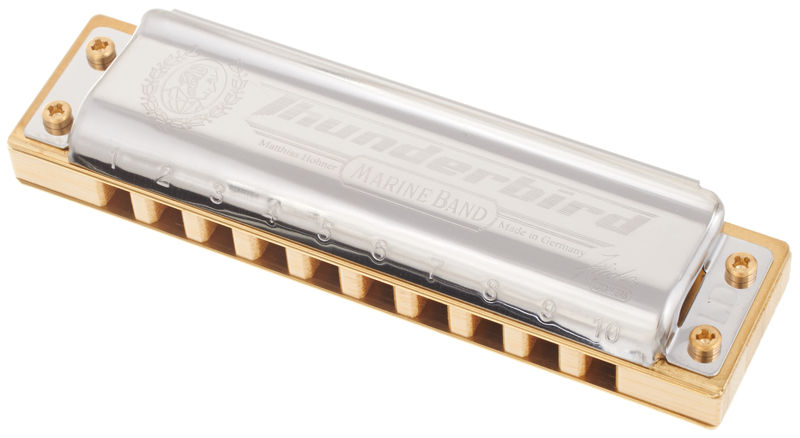 Marine Band Thunderbird Low D Hohner