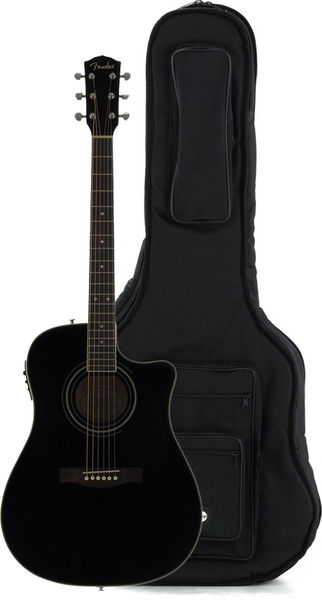 Fender CD-140SCE BK Bundle