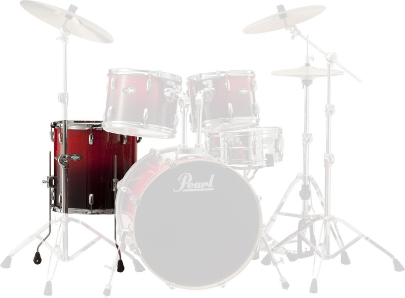 "Pearl 14""x14"" Stand Ruby Fade #232"
