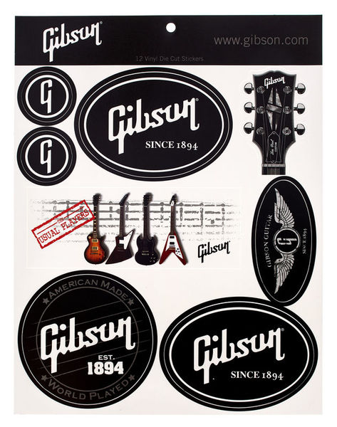 Gibson Logo Stickers